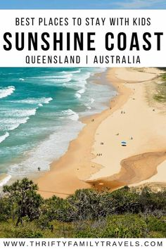 15 of The Best Family Accommodation - Sunshine Coast - Thrifty Family Travels Travel Advice, Travel Guides, Travel Tips, Travel Articles, Travel With Kids, Family Travel, Amazing Destinations, Travel Destinations, Melbourne
