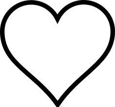 Shapes Clip Art | Thick Heart Shape clip art - vector clip art online, royalty free ...
