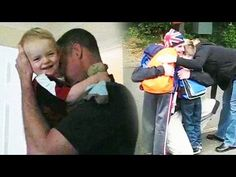 """[VIDEO] Soldier Surprises His Three Boys After Coming Home Early from Afghanistan     """"My husband was in Afghanistan. He was supposed to be gone for 4 months, but was able to return early for the birth of our 4th son. So, our boys were very surprised since they did not know he would be home yet! First, we surprise our youngest after he wakes up from a nap. Then, we surprise the two older boys after they had just gotten off the school bus.""""    -Linda"""