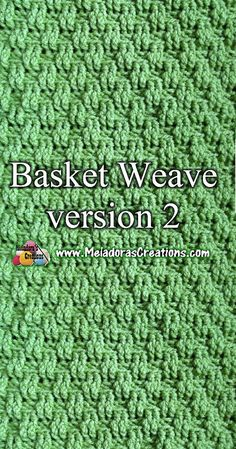 Crochet Tutorial Crochet basketweave stitch tutorial - Share this: The Basket Weave stitch can be crocheted in different ways. I hope you enjoy this mini series of Basket Weave stitches. Make sure to check out the first one too. Find more … Crochet Geek, Love Crochet, Learn To Crochet, Easy Crochet, Crochet Yarn, Double Crochet, Modern Crochet, Crochet Summer, Crochet Stitches Patterns
