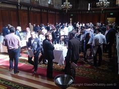 The well attend #wine tasting event, Thorman and Hunt & Co.