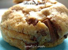 Cookies au beurre de cacahuètes | Gourmandizzz et compagnies