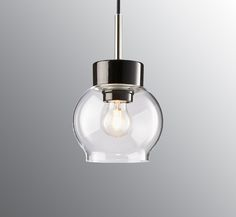 120 EUR -- Smycka Magda pendant clear glass white base/white cable IP20, E27, 60W, 2m textile cable