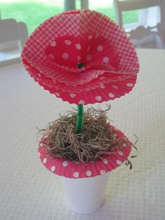 {Beautiful Nest}: Sweet and simple Mother's Day craft for kids