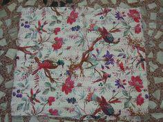 Wholesale Lot 3pc Cotton Indian Sari Kantha Quilt by Labhanshi, $199.00