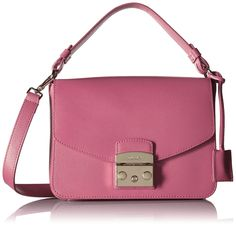 Amazon.com: Furla Metropolis Small Convertible Shoulder Bag, Pinky Fluorescent, One Size: Clothing