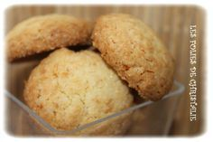 Biscuits moelleux à la noix de coco