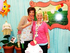 @brassyapple with @Jana Nielson at #quiltmarket SLC
