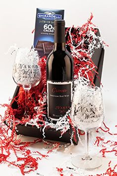 Mixed Packs Wine - Hearts Desire Washington Red Blend Wine Gift Set 1 x 750 mL *** Be sure to check out this awesome product.