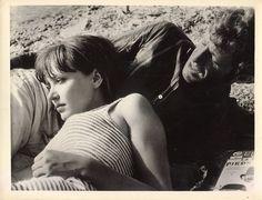 Anna Karina & Belmondo (Pierrot Le Fou, Jean Luc Godard)