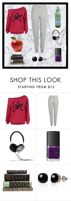"""""""Sunday Evening Relaxation"""" by blackorchid1004 ❤ liked on Polyvore featuring Topshop, Frends, NARS Cosmetics and Belk & Co."""