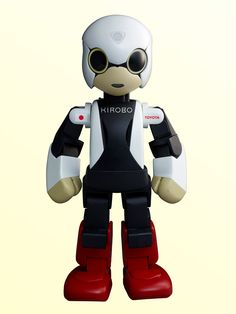 "Robot astronaut ""KIROBO""."