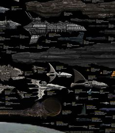 Hello, yes, I would like one Planet Destroyer, please. | Every Major Sci-Fi Starship In One Staggering Comparison Chart