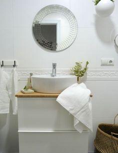 reforma de mi baño sin obras, antes y después. Renovar el baño sin obras.El resultado