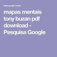 mapas mentais tony buzan pdf download - Pesquisa Google