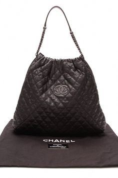 Chanel Large Elastic Tote Bag - Black  Chanelhandbags 3fb09341e617a