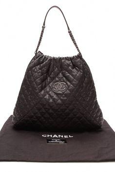 Chanel Large Elastic Tote Bag - Black  Chanelhandbags e56a894d3c2dd