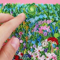 Aggiornamenti di LiskaFlower su Etsy Quilling Art, Air Dry Clay, Clay Art, Wearable Art, Wall Art Decor, Alice In Wonderland, Polymer Clay, Etsy, Vintage
