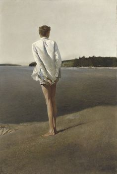 Above the Narrows, Andrew Wyeth.