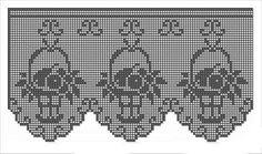 Resultado de imagem para bandô de croche para cozinha
