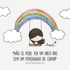 Não se pode ter um arco-íris