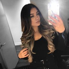 Are you going to balayage hair for the first time and know nothing about this technique? We've gathered everything you need to know about balayage, check! Hair Color Highlights, Hair Color Balayage, Dark Hair Light Highlights, Dark To Blonde Balayage, Guy Tang Balayage, Dark To Light Ombre, Dark To Light Hair, Hair Color Ideas For Brunettes Balayage, Brunette Highlights