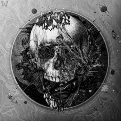 "Skulls:  #Skull ~ ""Eternity,"" by Rob Shields."