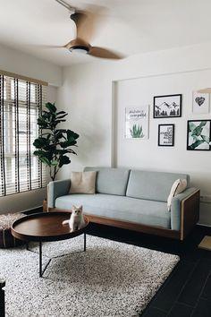 Home Remodel Cheap Home Living Room, Living Spaces, Sofa Design, Interior Design, Room Setup, Home Decor Furniture, Apartment Design, Sofa Set, Home Remodeling
