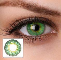 2 Kristallblaue hellblaue Kontaktlinsen + GRATIS Behälter (L&R) für 2 farbige Kontaktlinsen ohne Stärke original von Eye-Effect: Amazon.de: Drogerie & Körperpflege