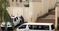 Security operatives believed to be from the police headquarters on Thursday evening raided the Abuja home of Danjuma Goje a former governor of Gombe State PREMIUM TIMES has learnt.  The operation which began after 5:00 p.m. was still ongoing as at 7:01 p.m.  Our correspondents report that at least 12 vehicles including about eight police vans were stationed outside the building.  At least 25 mobile police officers were sighted outside the building located on Haile Selassie Street Asoroko…