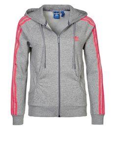 adidas Originals Tracksuit top grey, Zalando
