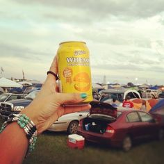 7 - Drink. Nothing like an O'Fallon Wheach Beer to start off a killer Bonnaroo weekend. Pe-ace! (Taken with Instagram)