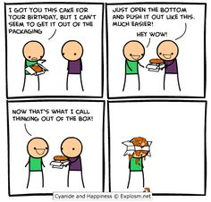 Cyanide and Happiness - Thinking Out Of The Box