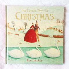 The Twelve Days of Christmas by Alison Jay.  Alison Jay has such a unique illustration style. The vintage feel to the cracked pages is an immediate style which I am often drawn to.  This new edition of the twelve days of Christmas moves the traditional song into a lovely picture book which can be read again and again.  Published by @scholastic_au