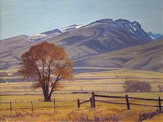 Phillips Gallery - Ruby Mountains, Nevada | 18 x 24 | Oil | 4,400