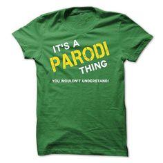 I Love IT IS A PARODI THING. T shirts