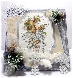 Liz's Creative Corner: Mistletoe fairy