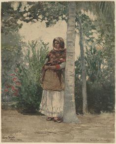 Winslow Homer, Under a Palm Tree, 1886, National Gallery of Art, Washington, D.C.