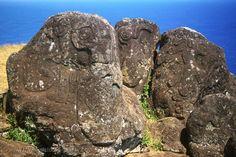Easter Island Travel | easter island the birdman petroglyphs at orongo w2c multimedia travel ...