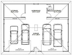 4 Car Garage Plans - Allowed to help our web site, in this period I will show you concerning 4 Car Garage Plans. Now, this can be a sample: garage apartment plans Pole Barn Garage, Tandem Garage, Garage Loft, Garage Shed, Detached Garage, Dream Garage, Car Garage, Garage Apartment Plans, Garage Apartments