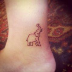 My elephant tattoo : )