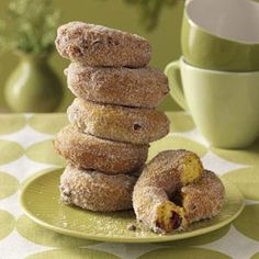 Pumpkin Recipes from Taste of Home, including Pumpkin-Cranberry Cake Doughnuts