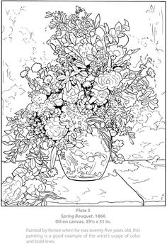 Dover Masterworks: Color Your Own Renoir Paintings Welcome to Dover Publications
