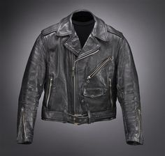'Worn to be Wild': Celebrating the black leather jacket from Elvis