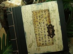 a beautiful rustic looking journal!