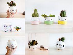 pot de fleurs animal succulente céramique