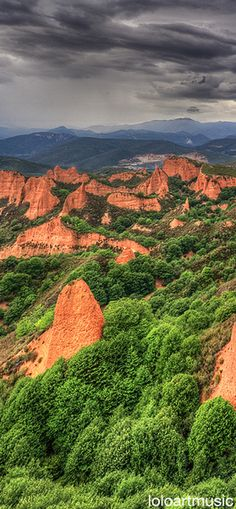 SPAIN / Cities, towns, landscapes - Las Médulas, León, Spain
