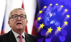 10/6/16 Juncker BEGS EU leaders to help save Brussels bloc following failed summit talks  DESPERATE Jean-Claude Juncker has urged European Union leaders to pull together as the Union looks increasingly divided following Brexit.