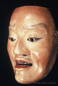 能面事典:男面:邯鄲男