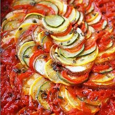 Cajun Delicacies Is A Lot More Than Just Yet Another Food Layered Ratatouille 29 Tasty Vegetarian Paleo Recipes Paleo Recipes, Dinner Recipes, Cooking Recipes, Dinner Entrees, Cooking Tips, Meatless Recipes, Paleo Dinner, Skinny Recipes, Cookbook Recipes